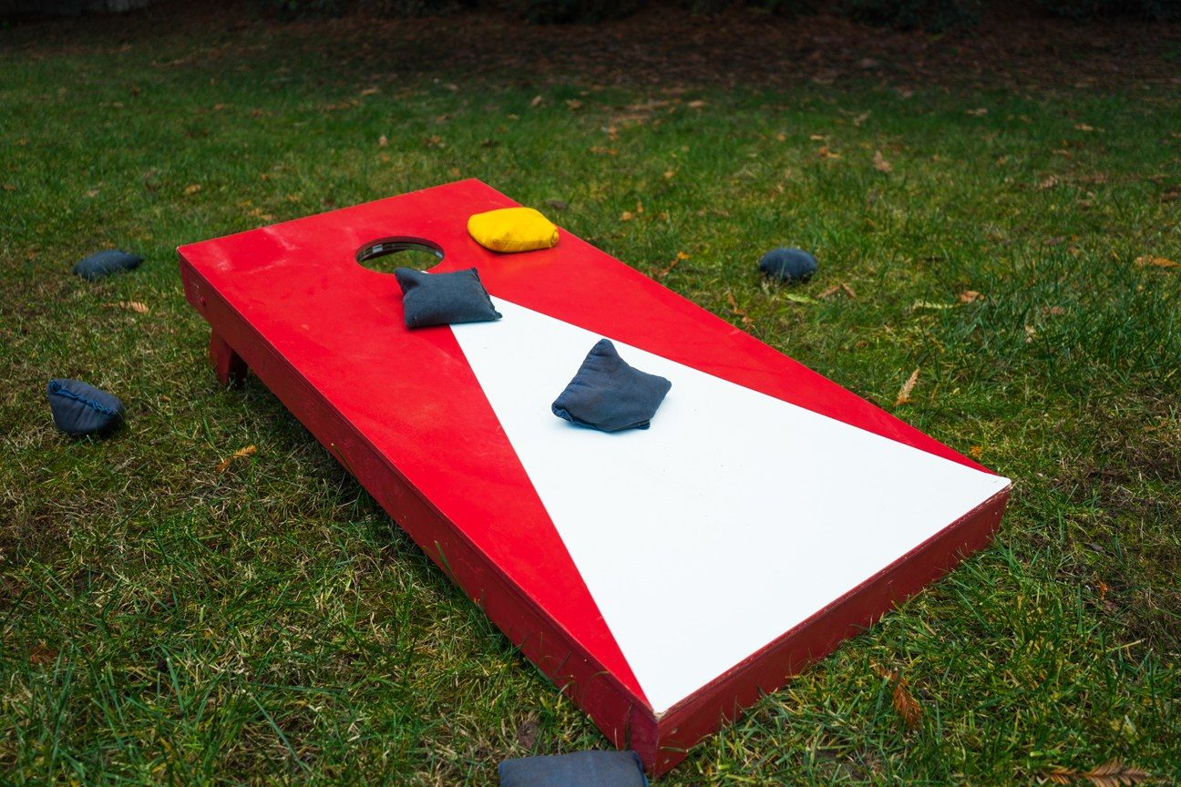 DIY Cornhole Boards For Passing Time In The Summertime