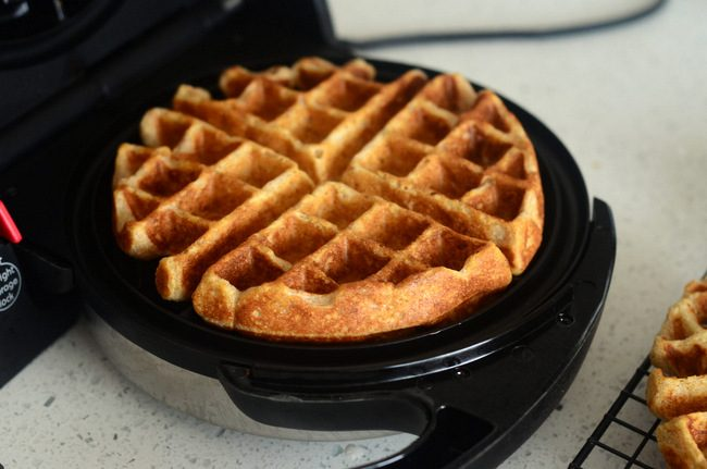 How to Make Perfectly Fluffy Whole Wheat Waffles